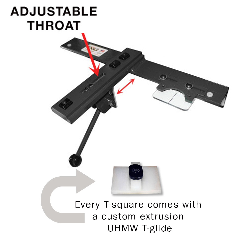 Adjustable T Square For Cabinet Saws Bandsaws Contractor