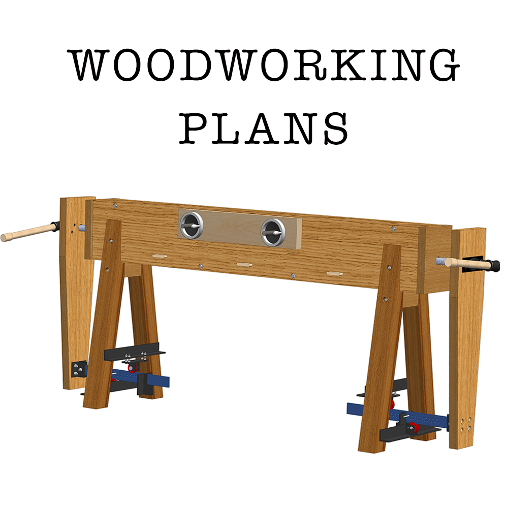 Home / Store / Woodworking Plans / TX Roubo Workbench w Double Moxon