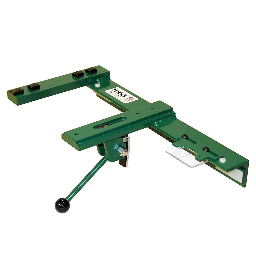 Euro style adjustable t square for sliding table saws adjustable throat fits a variety of Table saw fence