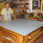 AskWoodMan with his Ultimate Work Table