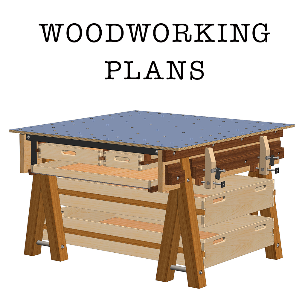 Home / Store / Woodworking Plans / The Ultimate Work Table