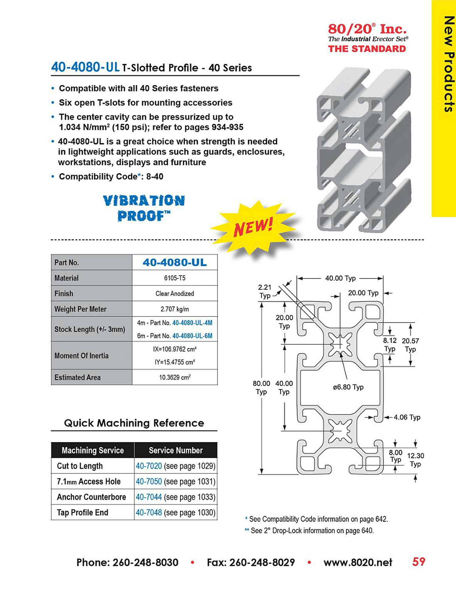 40-4080-UL-aluminum-extrusion
