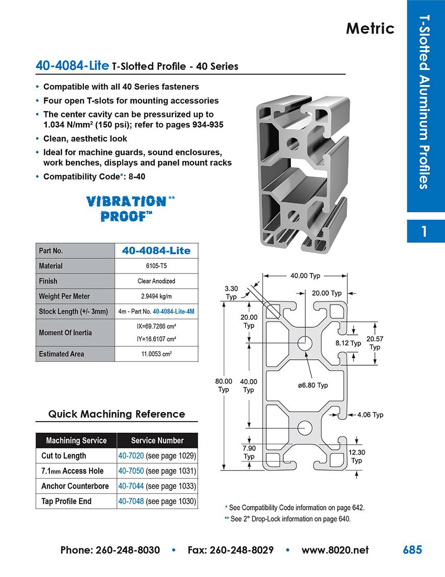40-4084-Lite-aluminum-extrusion