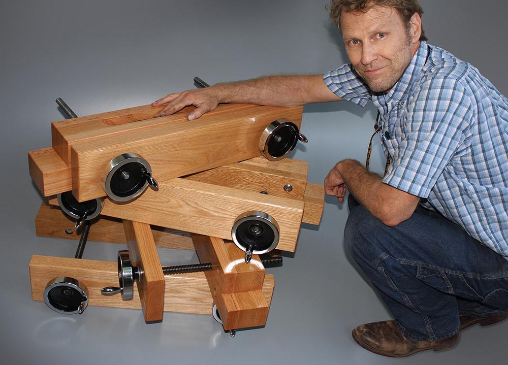 Wood Thread Vise Woodwork Sample