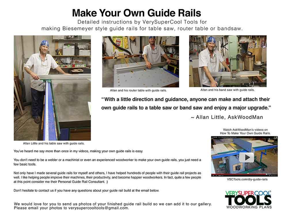 free-guide-rail-plans