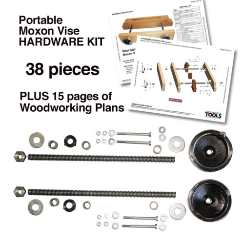 Portable Moxon Vise Hardware Kit