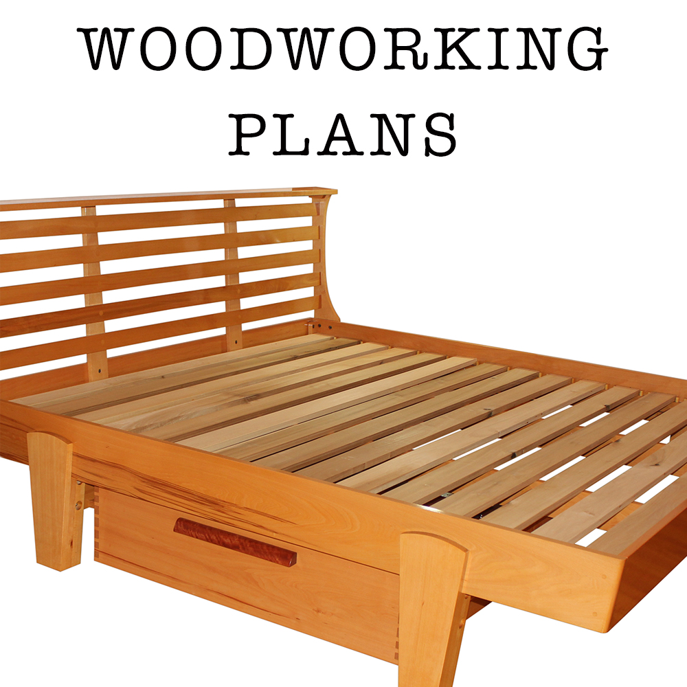 Woodworking Plans: AskWoodMan Platform Bed • Coming Soon ...