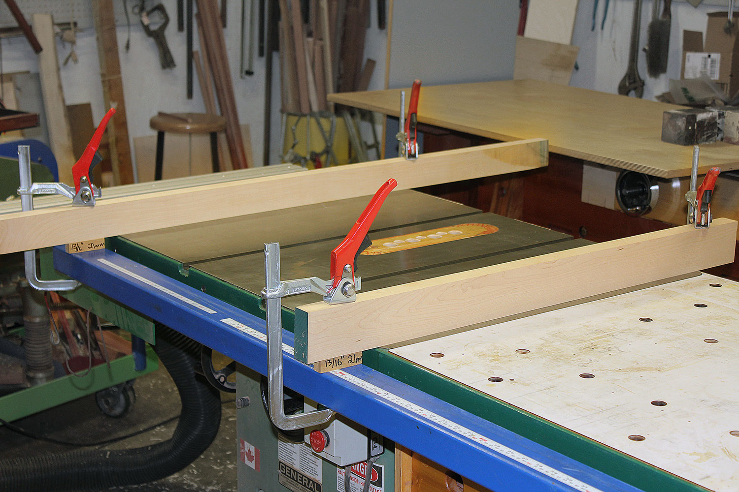 AskWoodMan's Guide Rail Installation Set-Up.