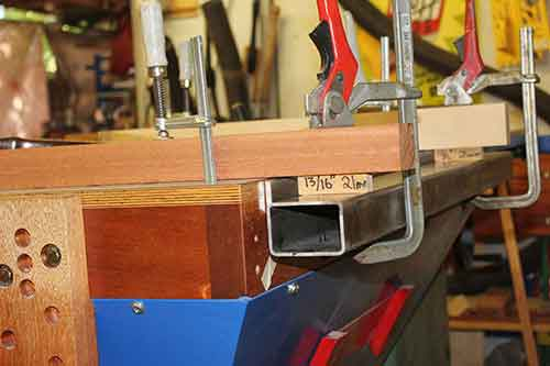 making-a-guide-rail-clamping
