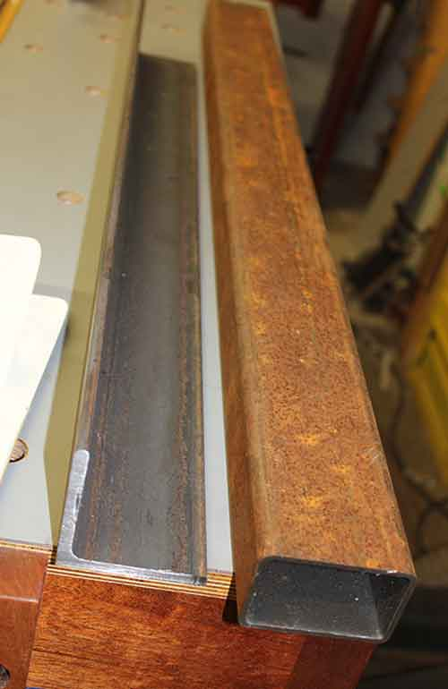making-guide-rails-rough-steel