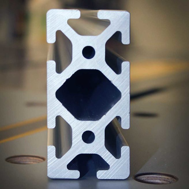 Machined Aluminum Extrusions sold exclusively by VerySuperCool Tools