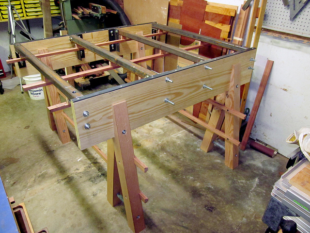 table saw with verysupercool tools fence