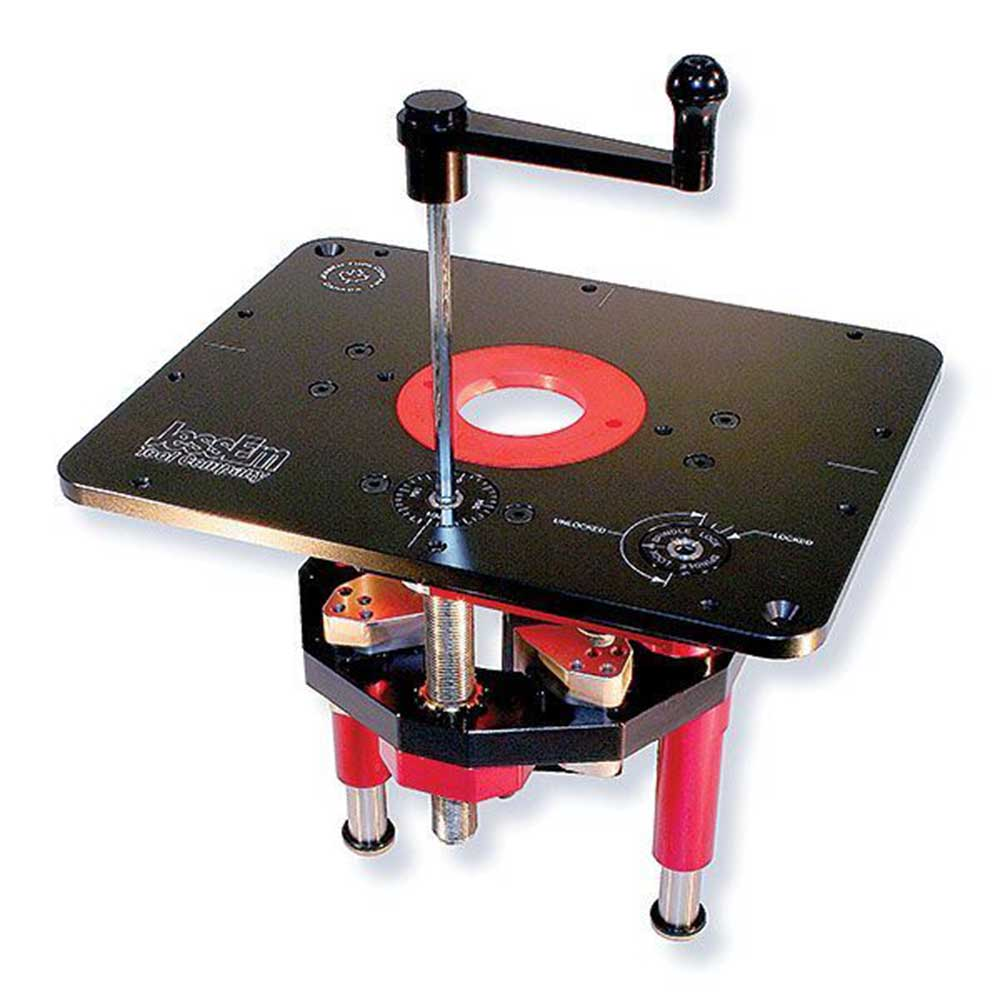 Jessem router lift mast r lift ii verysupercool tools for Table router