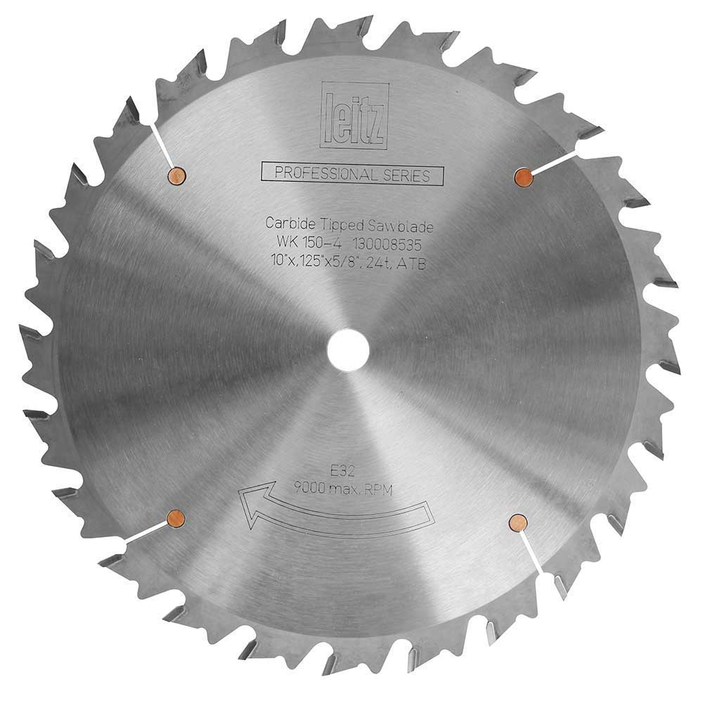 Table saw blade pro series leitz rip 24t verysupercool for 10 inch table saw blade reviews