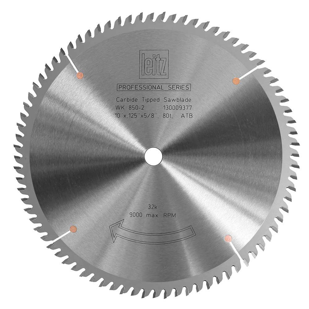 Table Saw Blade Pro Series Leitz Cross Cut 80t Verysupercool Tools